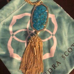 Kendra Scott bronze veined turquoise Rayne